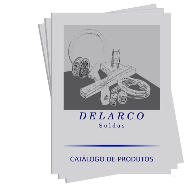 Catalogo com tabela de eletrodos revestidos