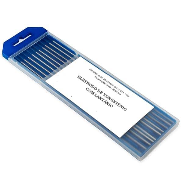 Eletrodo de tungstênio ponta azul