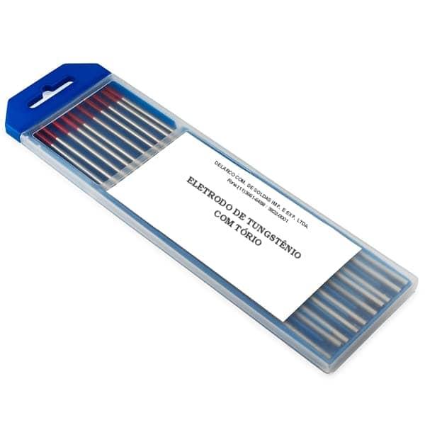 Eletrodo de tungstênio ponta vermelha