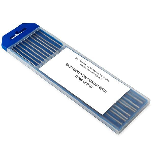 Eletrodo tungstenio ponta cinza